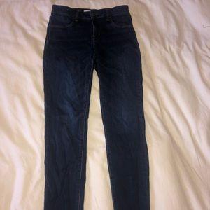 Pacsun Bullhead Denim Skinny Jeans Navy Blue